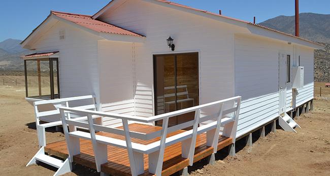 Venta de casas prefabricadas desde la serena en chile - Casas de madera de pino ...