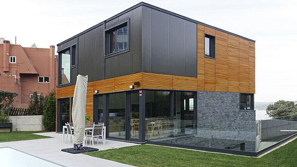 12 Modelos de Casas modulares hormigón desde 38.500€